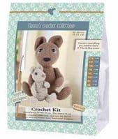 Go Handmade Crochet Kit Iki Pika & Pika Junior Rabbits